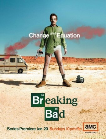 Во все тяжкие / Breaking Bad (1 сезон) (2008)